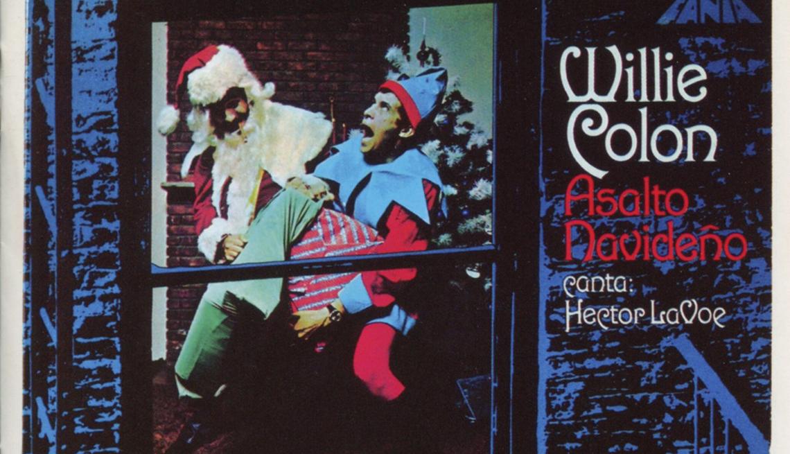 Carátula del disco de Willie Colón y Héctor Lavoe 'Asalto Navideño'
