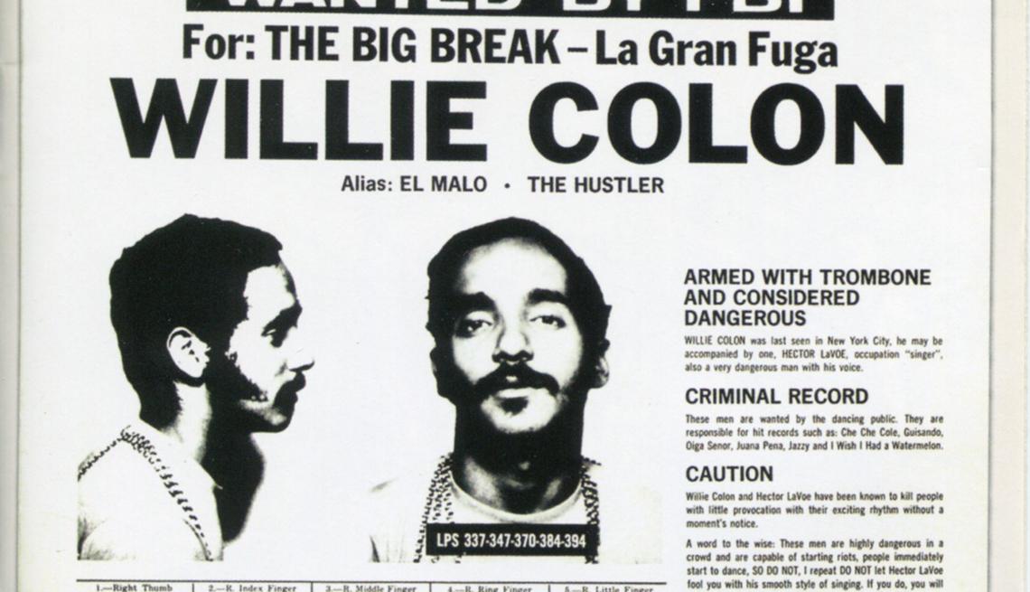 Carátula del disco de Willie Colón y Héctor Lavoe 'La Gran Fuga'