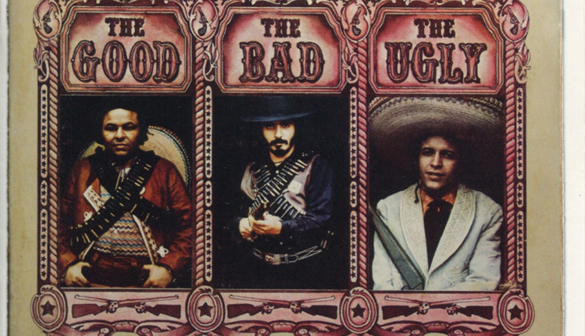Carátula del disco de Willie Colón y Héctor Lavoe 'The Good, The Bad and The Ugly'
