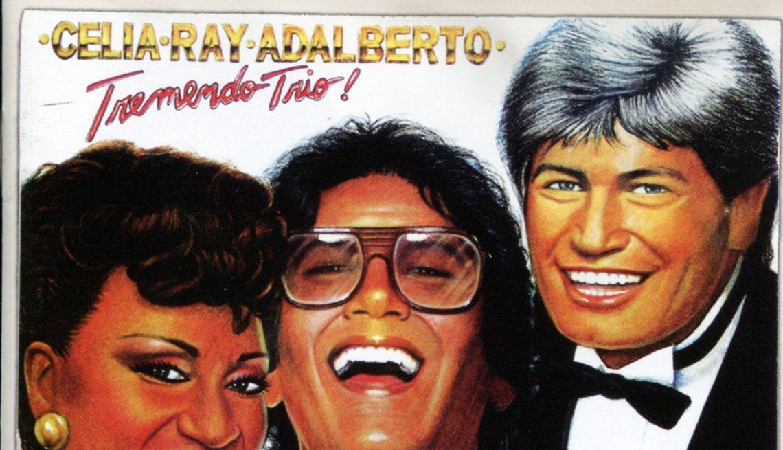 Discos clásicos de Ray Barretto. Portada de Tremendo trío (1983)