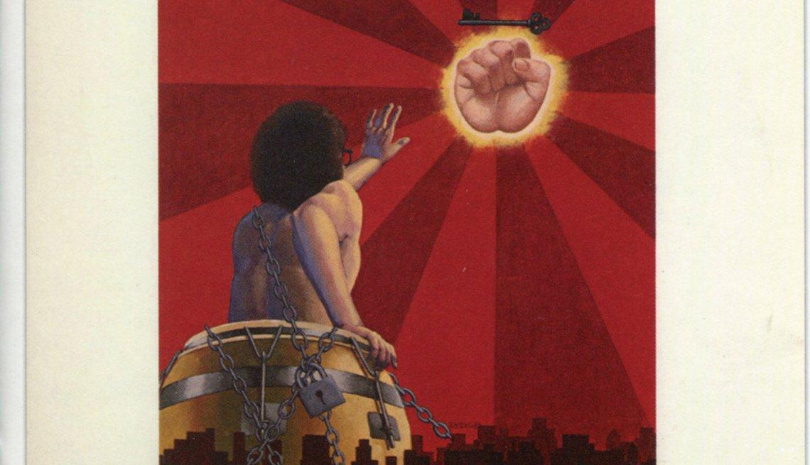 Discos clásicos de Ray Barretto. Portada de Qué viva la música (1972)