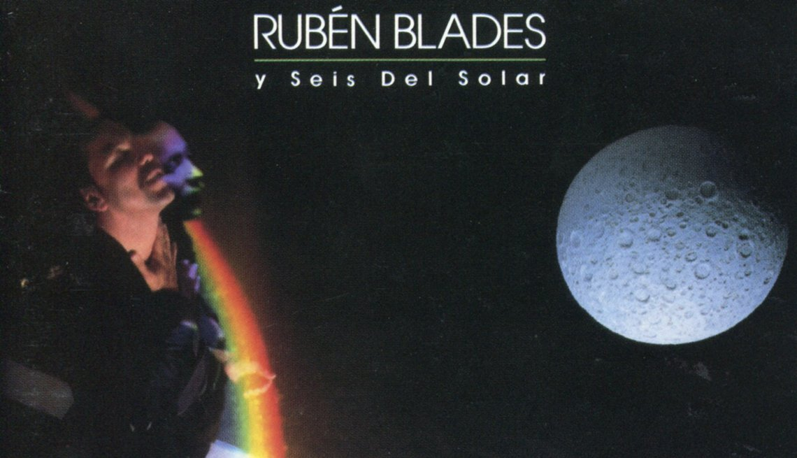 10 discos indispensables de Rubén Blades - Portada del disco Agua de Luna (1986)