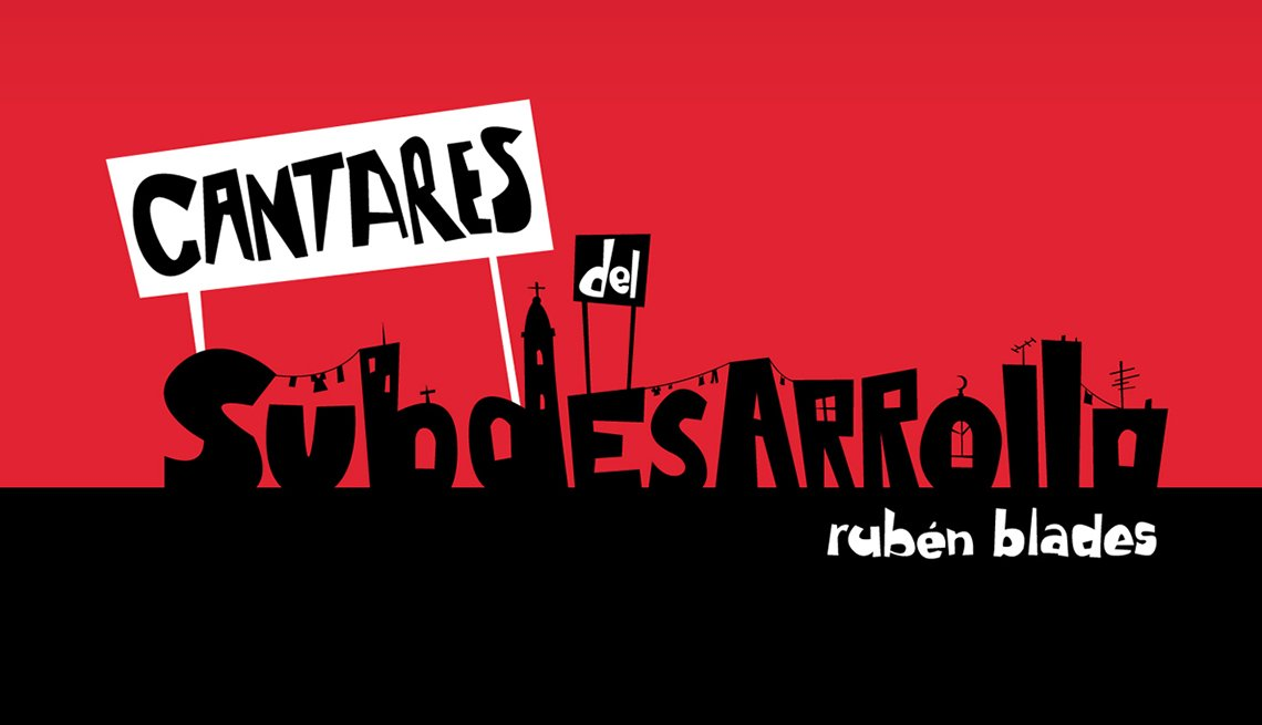 10 discos indispensables de Rubén Blades - Portada del disco Cantares del Subdesarrollo (2009)