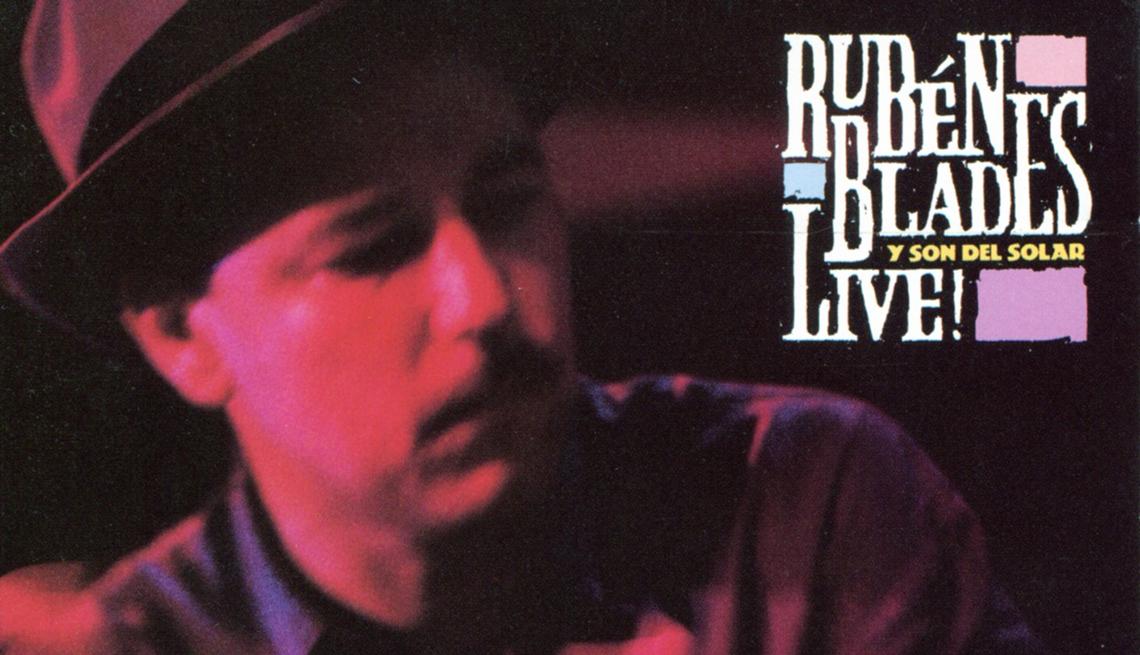 10 discos indispensables de Rubén Blades - Portada del disco Live! (1990)