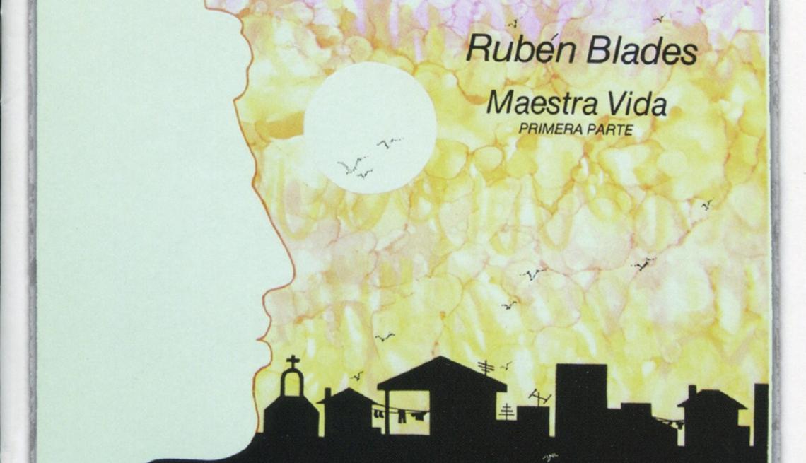 item 3 of Gallery image - 10 discos indispensables de Rubén Blades - Portada del disco Maestra Vida (1980)