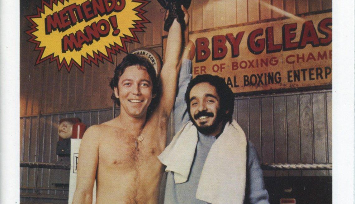 10 discos indispensables de Rubén Blades - Portada del disco Metiendo Mano (1977)