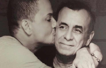 Victor Manuelle and his father