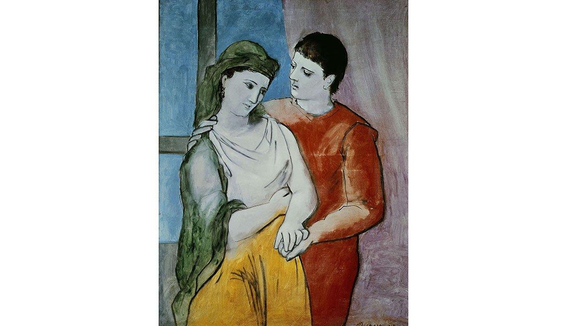 Picasso: Lovers - Cuadros de artistas famosos que celebran el amor