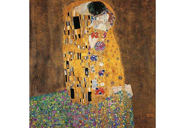 Cuadros de arte que celebran el amor - Cuadros de besos ...