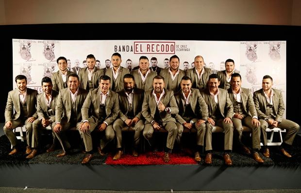 Foto de la Banda El Recodo en el Latin Music Festival