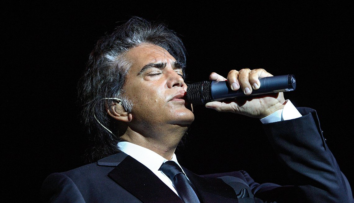 José Luis Rodríguez, El Puma. Un recorrido a la carrera del cantante venezolano. Hollywood, Florida, 2006