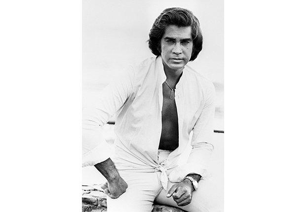 José Luis Rodríguez, El Puma. Un recorrido a la carrera del cantante venezolano. En una foto para la agencia de noticias EFE. Madrid, 1979