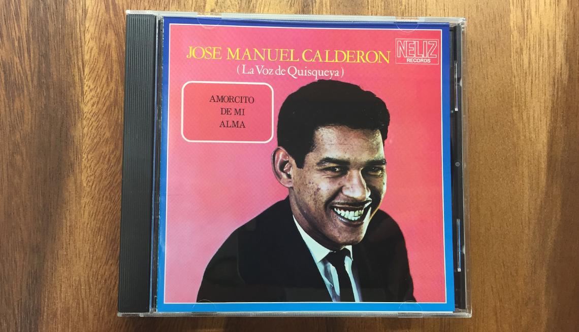 item 1 of Gallery image - Portada del disco José Manuel Calderón - Bachatas clásicas
