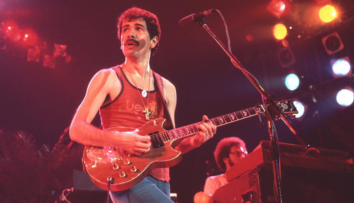 Cinco décadas de música de la segunda mitad del siglo 20 - Carlos Santana