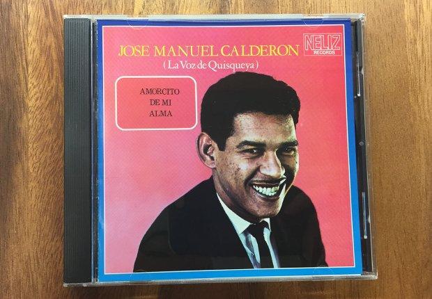 Portada del disco José Manuel Calderón - Bachatas clásicas