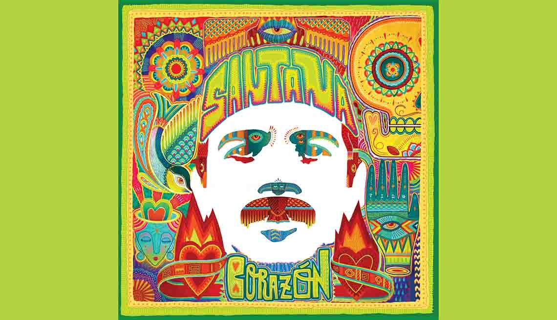 Portada del disco Corazón de Carlos Santana