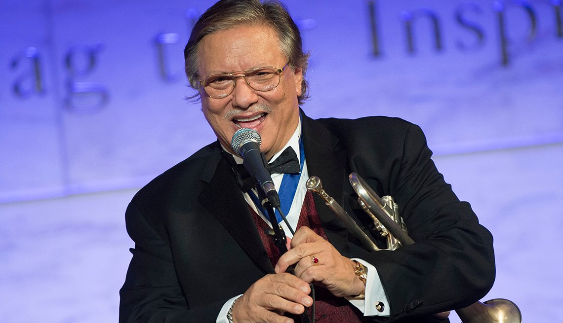 Arturo Sandoval, trompetista cubano de éxito