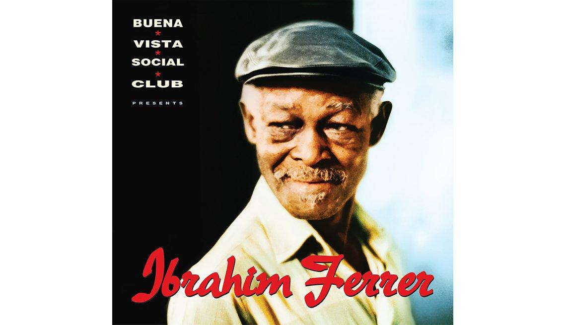 Portada del disco Ibrahim Ferrer, de Buena Vista Social Club