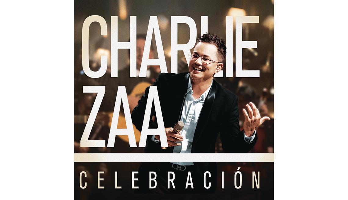 Portada del disco Celebración del artista colombiano Charlie Zaa