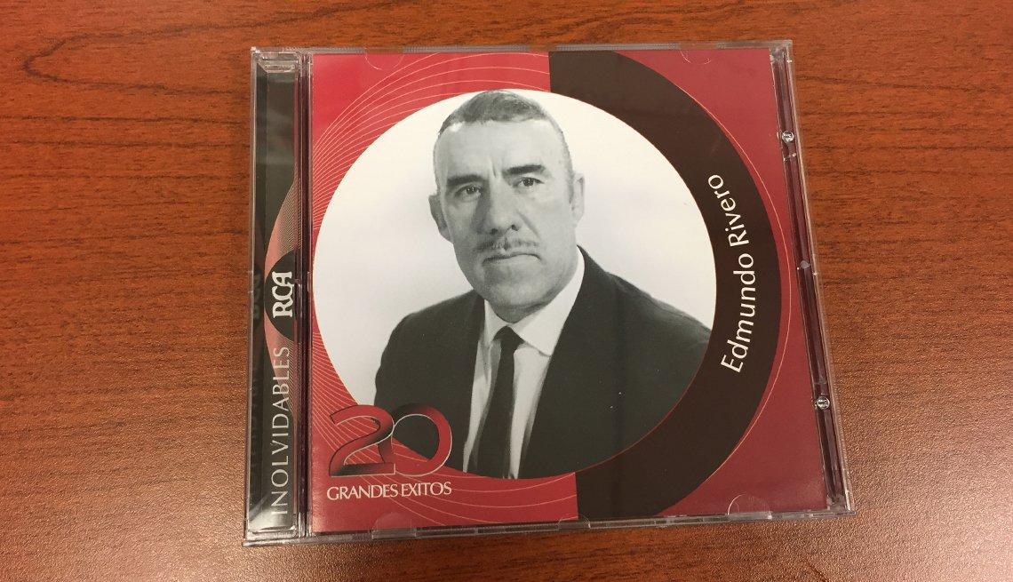Portada del disco Edmundo Rivero - Canciones para los amantes del café