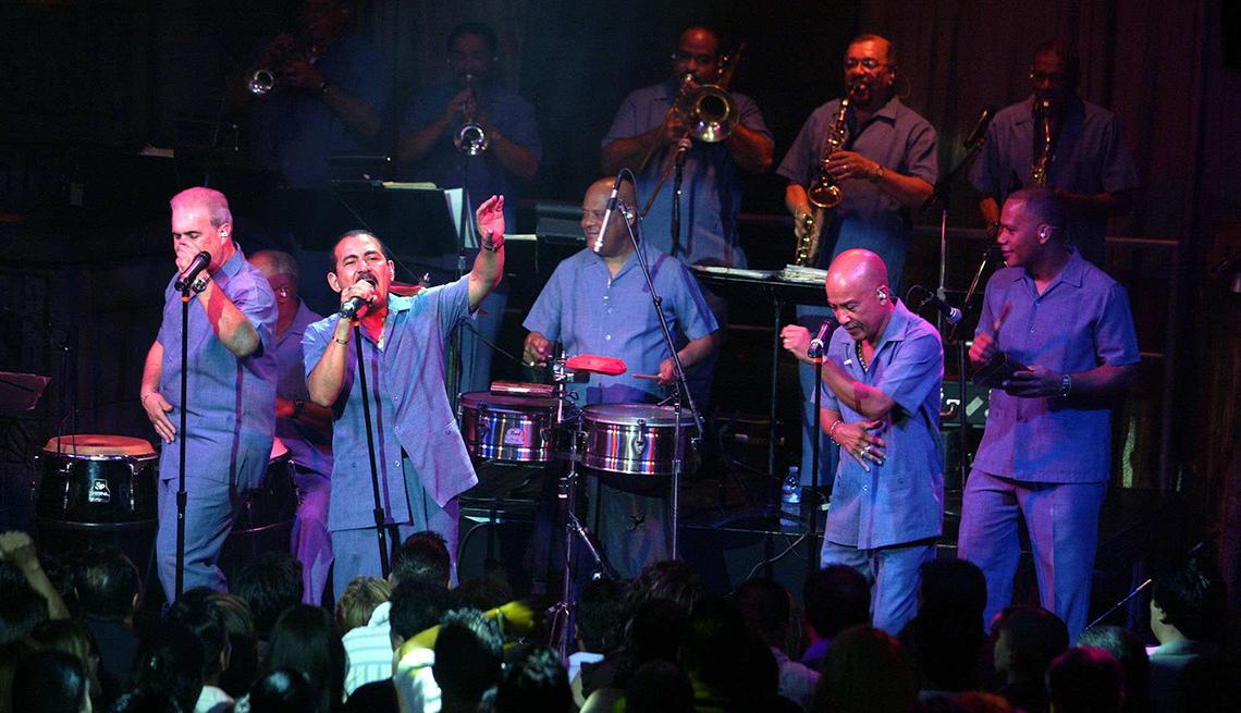 El Gran Combo de Puerto Rico en concierto - Canciones para los amantes del café
