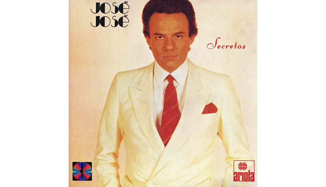 item 9 of Gallery image - Portada del disco, Secretos de José José, su carrera en fotos