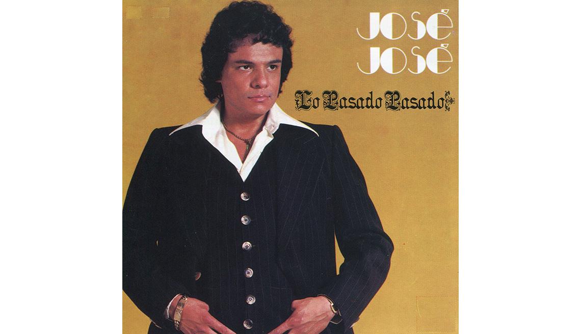 item 8 of Gallery image - Portada del disco, Lo pasado pasado de José José, su carrera en fotos