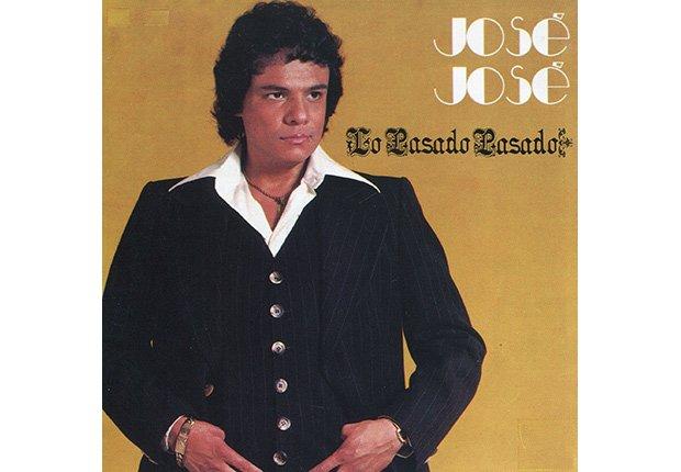 Portada del disco, Lo pasado pasado de José José, su carrera en fotos