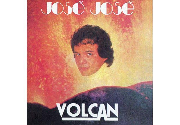 Portada del disco, Volcán de José José, su carrera en fotos