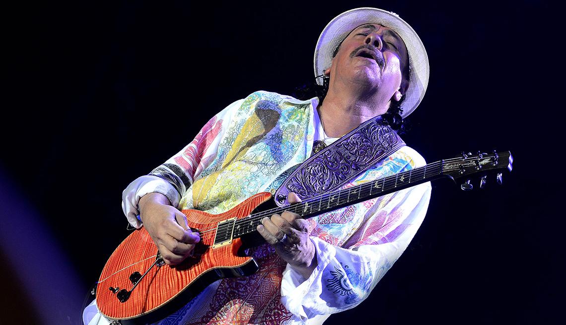 item 5 of Gallery image - Carlos Santana, una de las Personas del año del Latin Grammy
