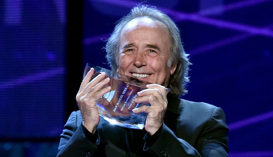 item 15 of Gallery image - Joan Manuel Serrat, una de las Personas del año del Latin Grammy