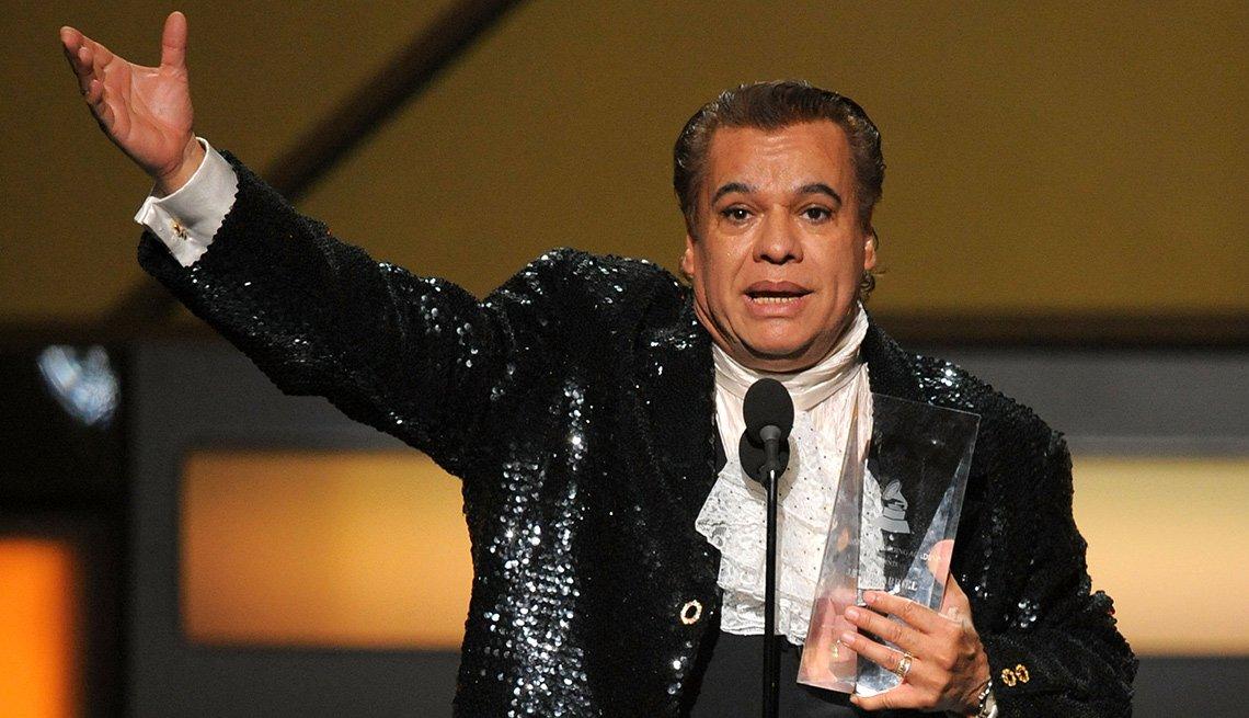 Juan Gabriel, una de las Personas del año del Latin Grammy