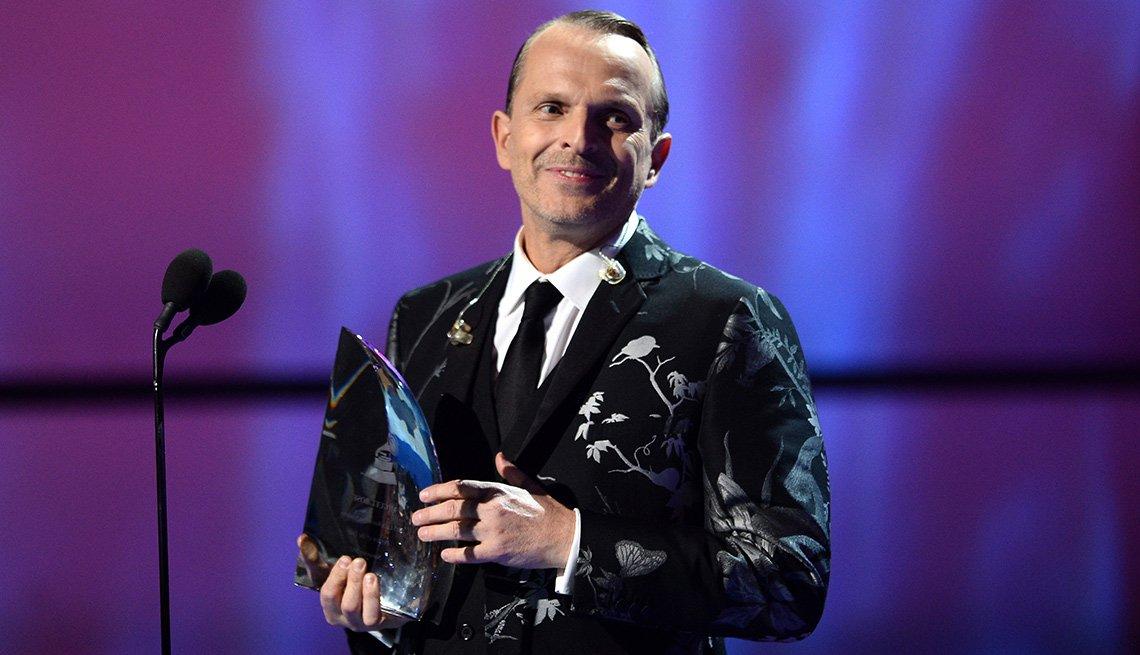 Miguel Bosé, una de las Personas del año del Latin Grammy