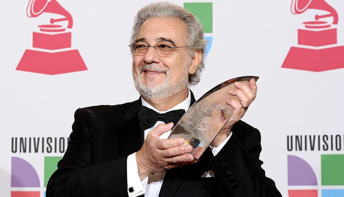 Plácido Domingo, una de las Personas del año del Latin Grammy