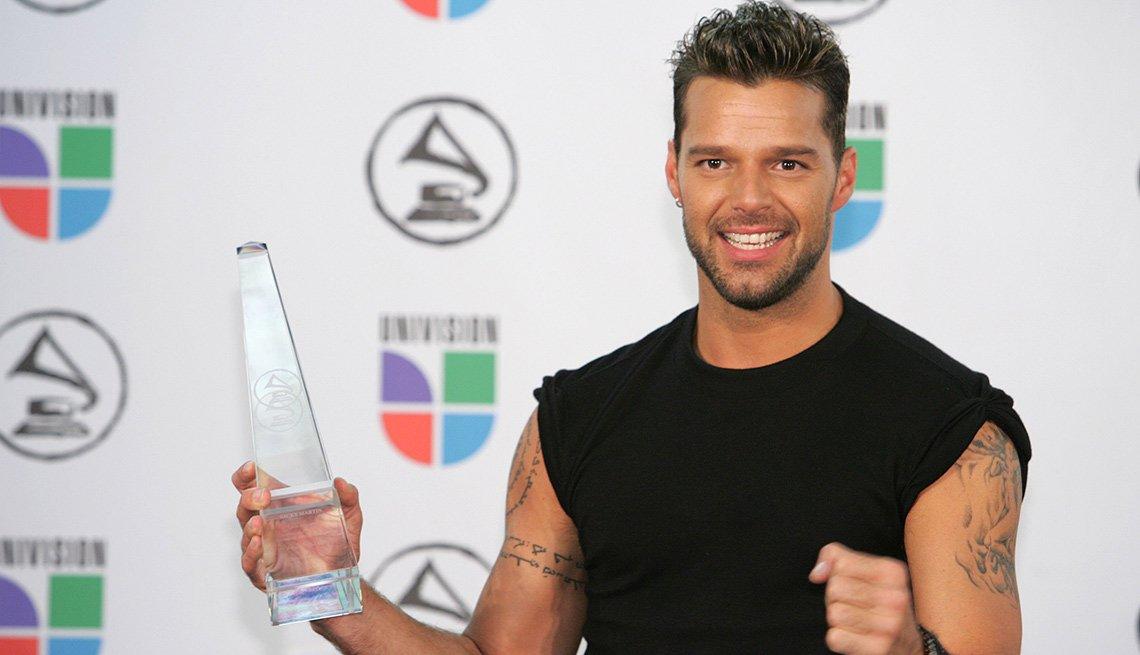 Ricky Martin, una de las Personas del año del Latin Grammy