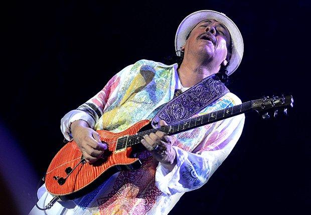Carlos Santana, una de las Personas del año del Latin Grammy