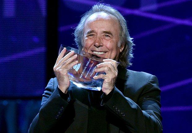 Joan Manuel Serrat, una de las Personas del año del Latin Grammy
