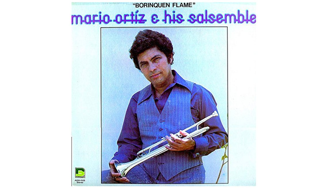 Portada del disco Mario Ortiz & His Salsemble