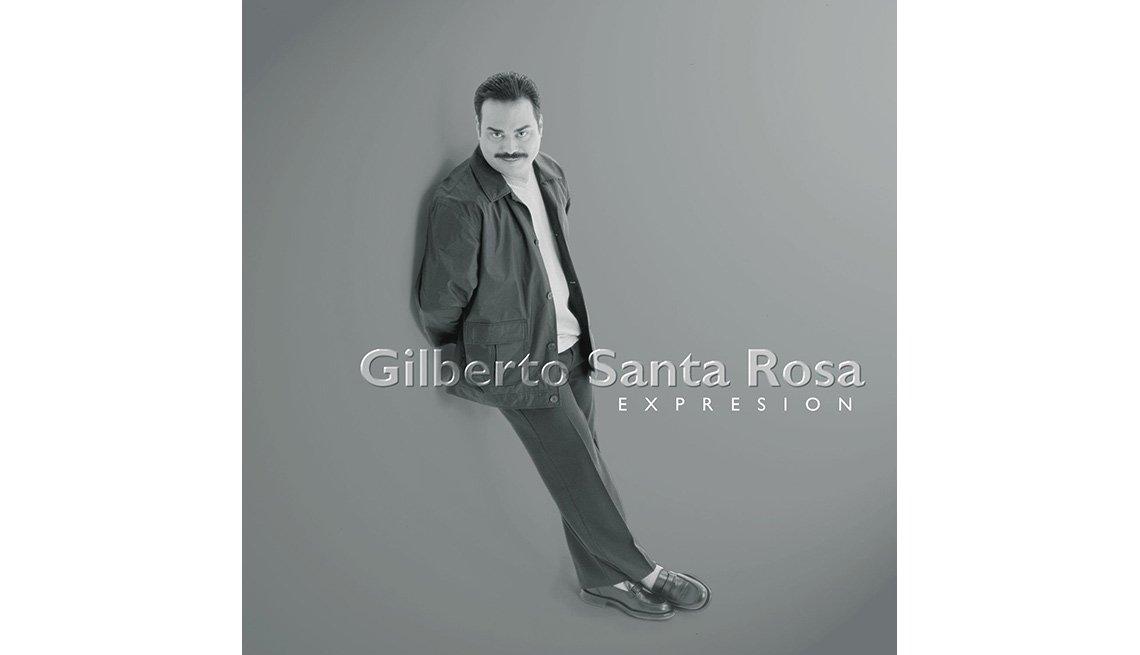 Portada del disco Expresión de Gilberto Santa Rosa