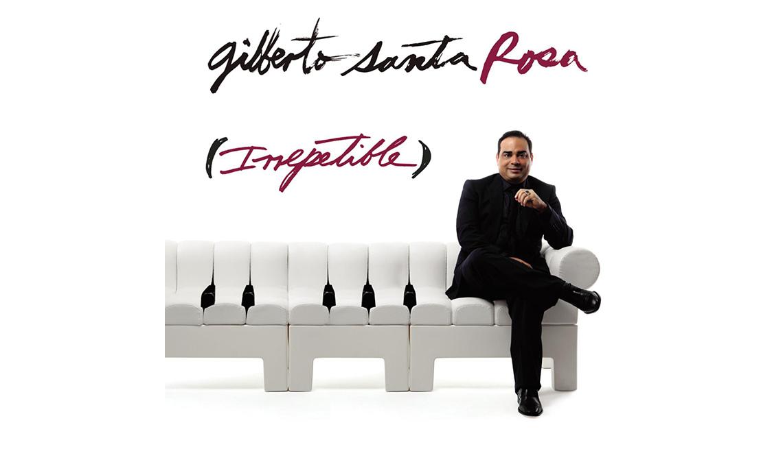 Portada del disco Irrepetible de Gilberto Santa Rosa