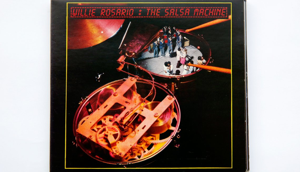 Portada del disco The Salsa Machine