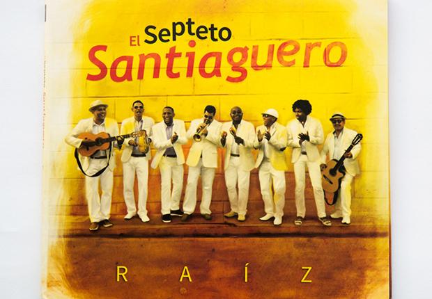 Portada del disco El Septeto Santiaguero
