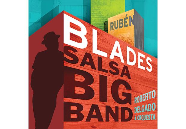 Portada del disco Salsa Big Band de Rubén Blades