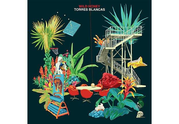 Portada del disco Torres Blancas de Wild Honey (Guillermo Farré)