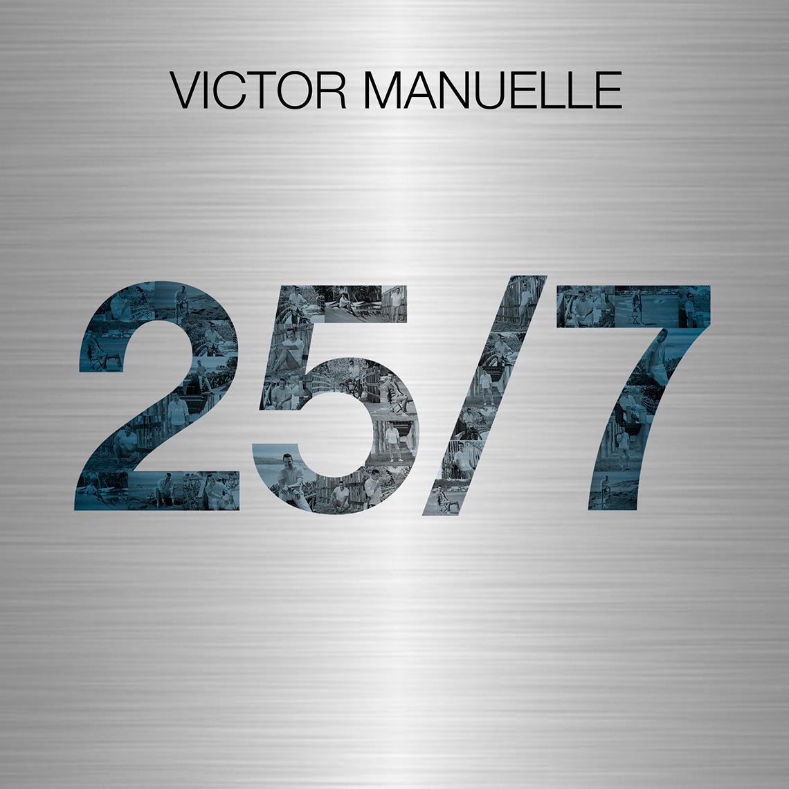 Portada del disco 25/7 de Víctor Manuelle