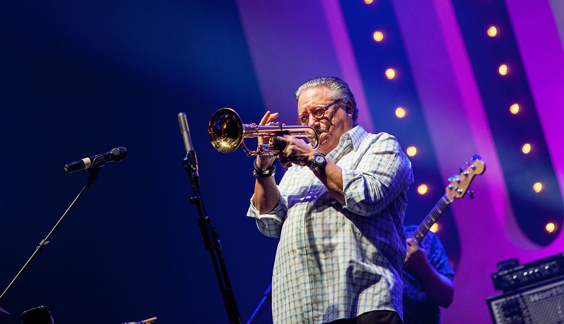 Arturo Sandoval en Jakarta durante el 13avo International Java Jazz Festival