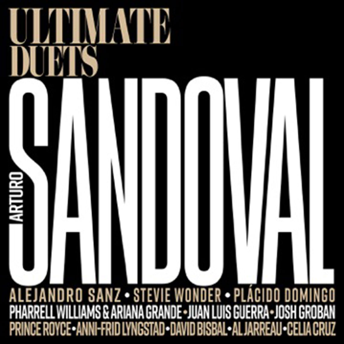 Portada del disco Untimate Duets de Arturo Sandoval