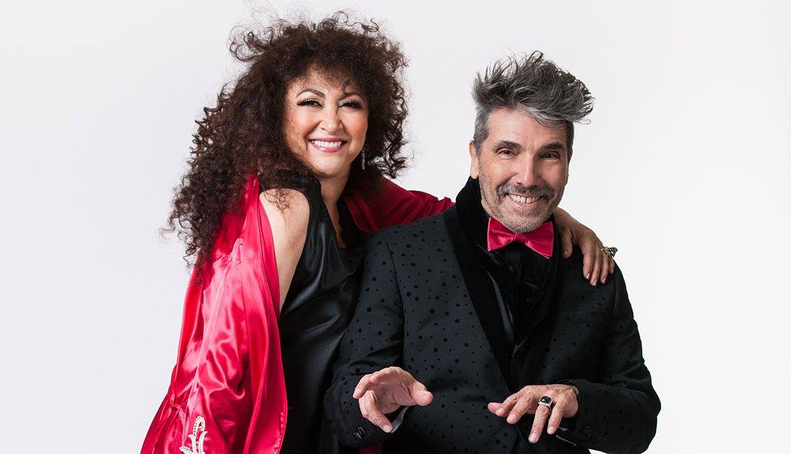 Amanda Miguel y Diego Verdaguer