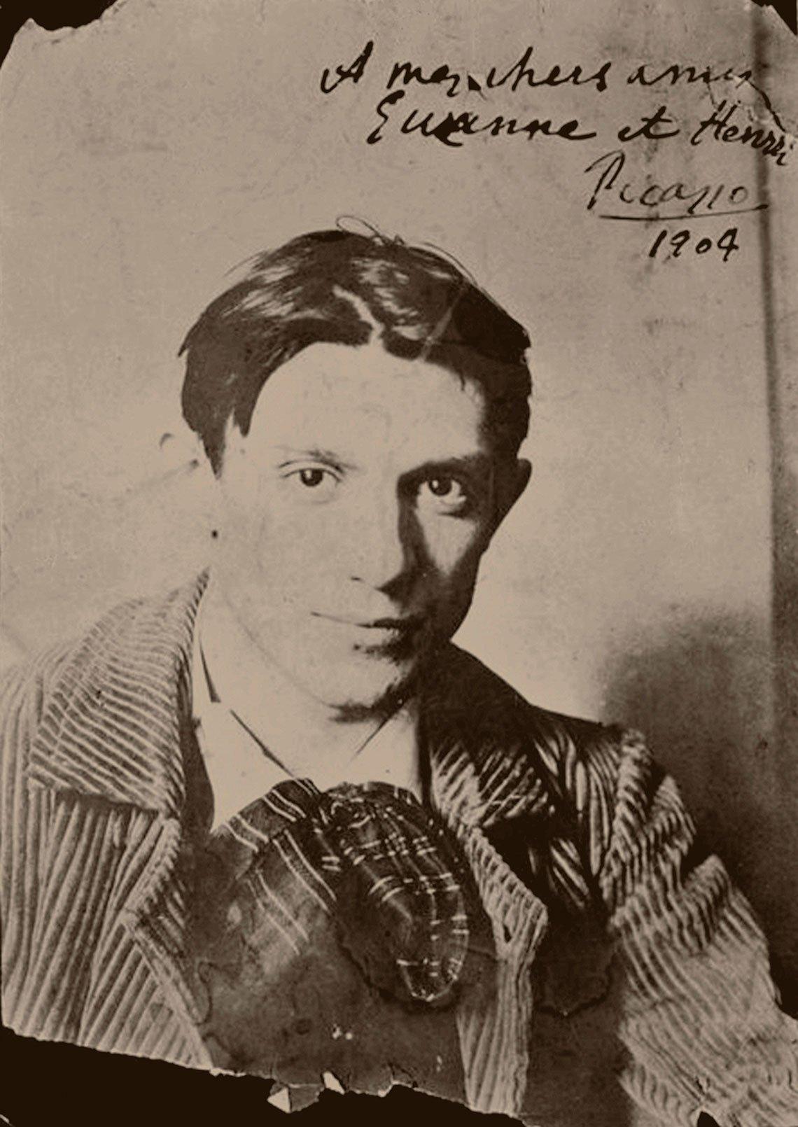 item 3, Gallery image. El pintor a los 23 años, en una foto de la colección del Museo Picasso de París.