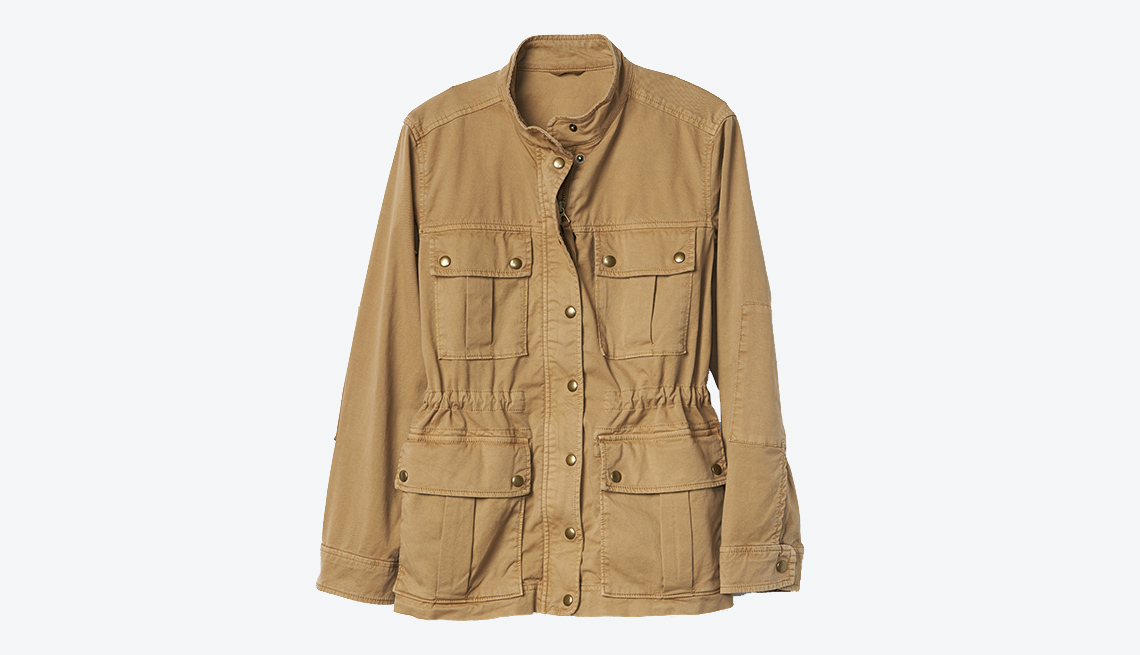 Gap Garment-Dye Utility Jacket